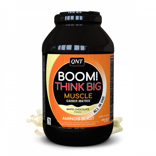BOOM Muscle Gainer White...