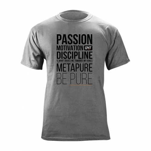 METAPURE T-shirt Grey L